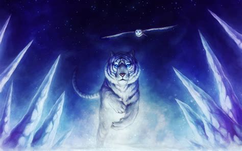 anime wallpaper tiger white tiger wallpaper