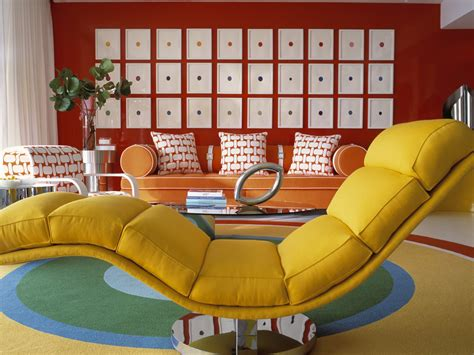 Yellow Sofa Chair Design Ideas Blast From The Past Decorating In Retro Style For