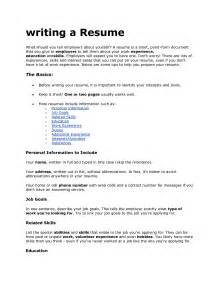 How To Write A Personal Resume by Doc 12751650 Cv Exles Of Hobbies And Interests Bizdoska