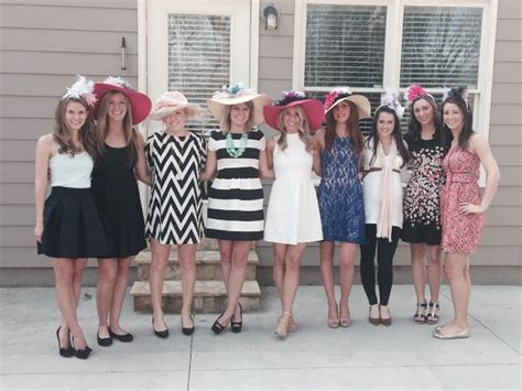 What To Wear To A Tea Bridal Shower sipping tea with the to be blurring edges