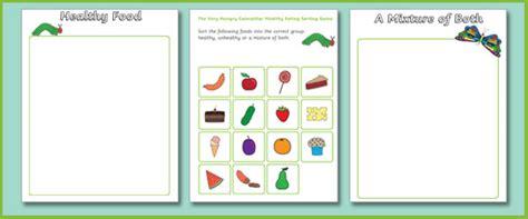 healthy eating healthy eating activities ks1