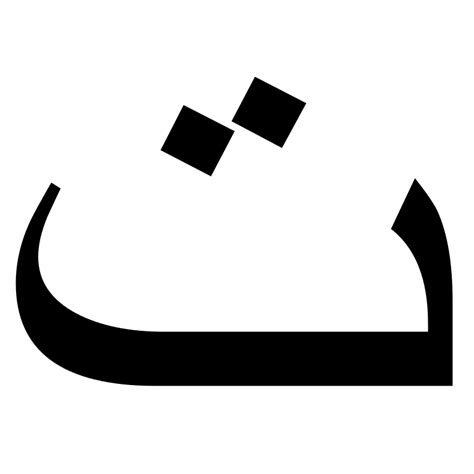 Release Letter In Arabic File Uyghur Arabic Script Isolated Form Ipa T Svg Wikimedia Commons