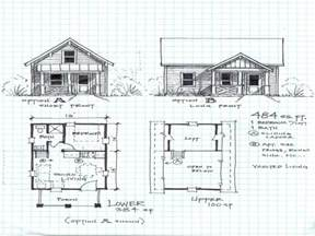 Cottage House Plans With Loft by Small Cabin Floor Plans Small Cabin Plans With Loft Small