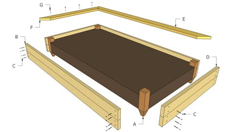 Elevated Bed Frame Plans Raised Bed Plans Free Outdoor Plans Diy Shed Wooden Playhouse Bbq Woodworking Projects