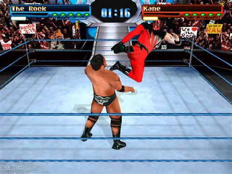 emuparadise up to down wwf smackdown e iso