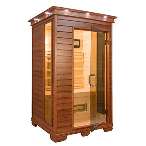 mps spa 2 person infrared health sauna with mps touchview