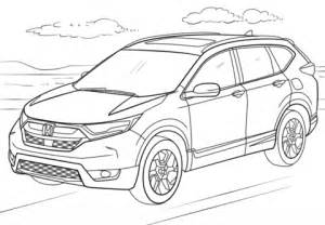 honda cr v coloring page | free printable coloring pages