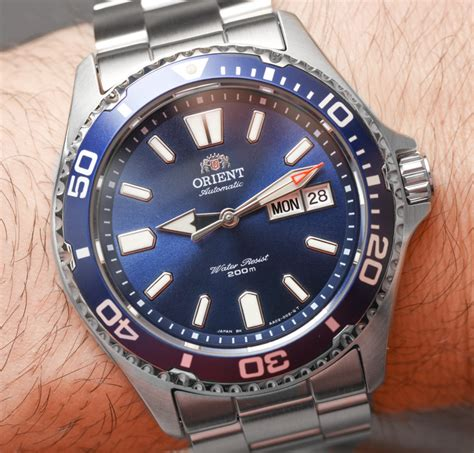 Orient Mako Xl Blue Fem75002dr Original Bergaransi orient mako usa ii watches on ablogtowatch