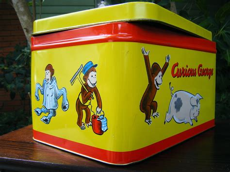 Curious George L by Curious George 12 Quot L X 8 5 Quot W X 7 Quot D Tin Pre Owned