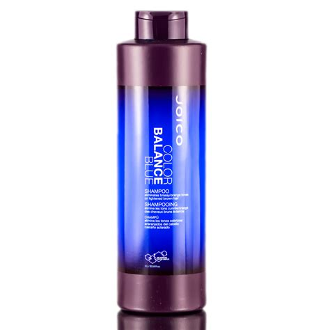 color balance hair joico color balance blue shoo 33 8 oz joico color