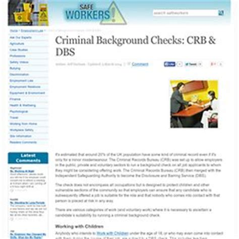 Crb Criminal Record Check Uk Safeguarding Pearltrees