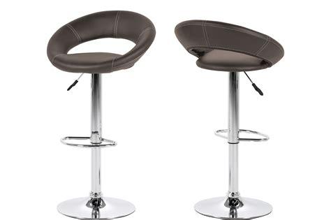 barstoel carbon lederlook grijs stoelen barstoel domo meubelen deco