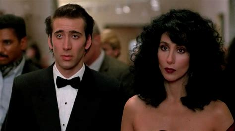 movie nicolas cage and cher hit rewind moonstruck 1987