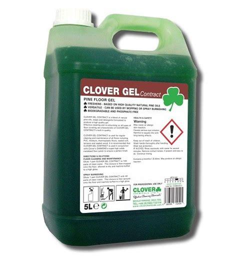 100 Floors Clover - clover gel contract pine floor cleaner click cleaning uk