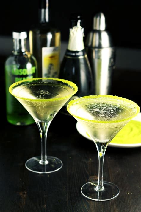 martini pear pear and elderflower bubbly martini