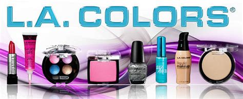 la color cosmetics addicted to l a colors cosmetics product review
