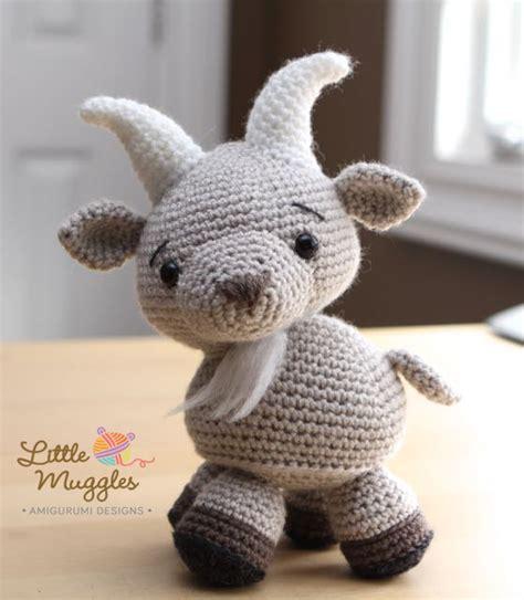 Amigurumi Goat Pattern Free | amigurumi crochet pattern gordy the goat