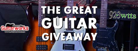 Free Guitar Giveaway 2017 - wtts fm world class rock