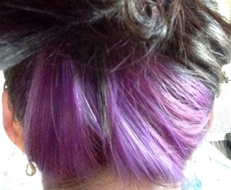 bottom half of hair dyed underneath hair dyed www imgkid com the image kid has it