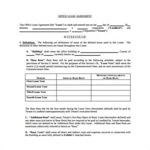 office space lease agreement template office lease extension agreement 8 sles exles