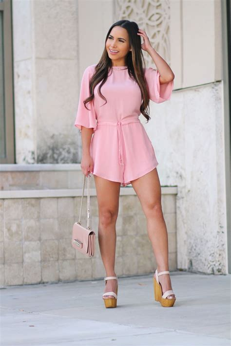how to style with hot iron like lisa rinni pink romper the lisa factor
