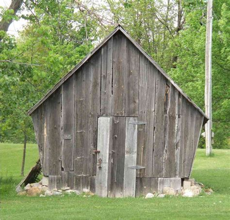 Crib History by Corn Crib The Lost Villages Historical Society