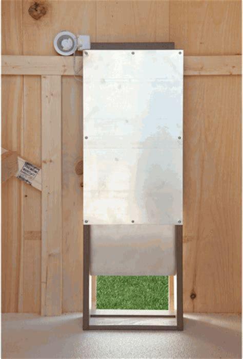 Chicken Door by Dewa Coop Free Build Chicken Coop Sliding Door