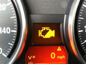 bmw e92 warning lights