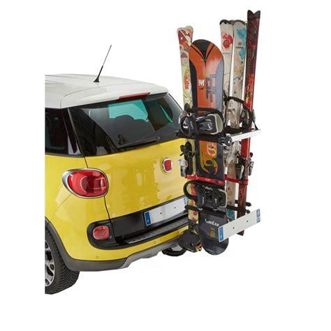 porte ski voiture porte skis sur attelage mottez a022p norauto fr