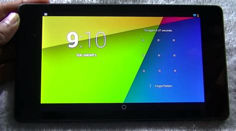 forgot pattern lock on android tablet forgot password pattern unlock of android tablet my