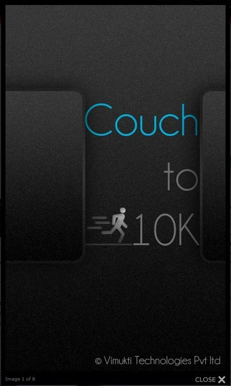 couch to 10k app reviews app review couch to 10k wp7 connect