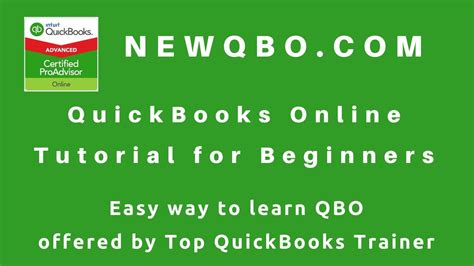 quickbooks accounting tutorial youtube quickbooks online tutorial for beginners learn how to