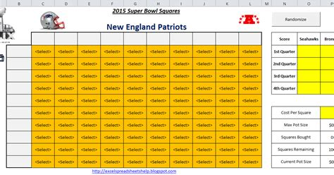 bowl 2015 squares template excel spreadsheets help 2015 bowl squares