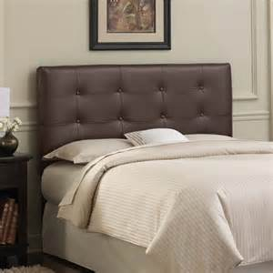tufted leather upholstered headboard modern headboards