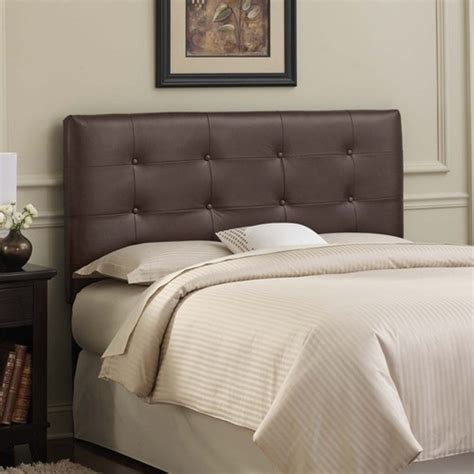 brown tufted headboard tufted leather upholstered headboard modern headboards