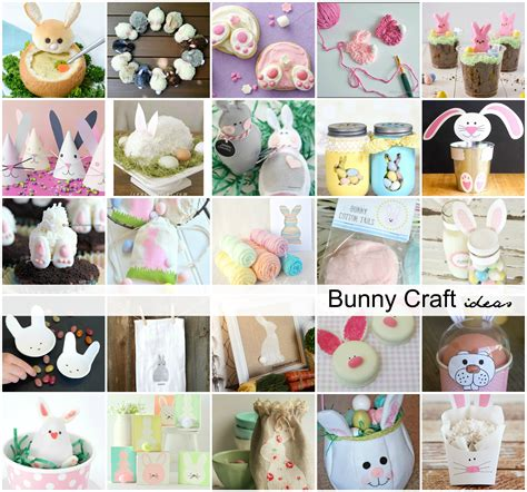 treat crafts easter bunny crafts activities and treat ideas the idea