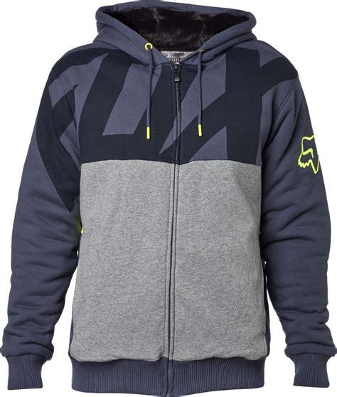 Tshirt Kaos Fox Terbaik fox racing mens kaos sasquatch plush lined front zip motocross hoody sweatshirt ebay
