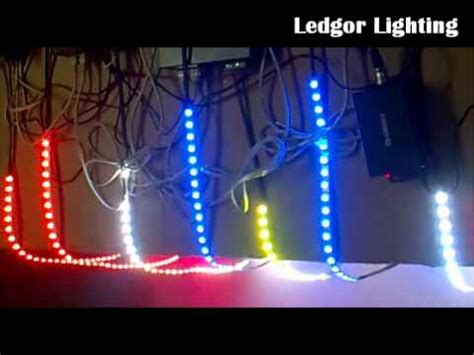 Ledgor Lighting Rgb Led Strip With Dmx Controller Youtube Animated Light Controller
