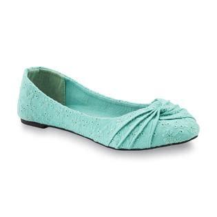 mint green flats shoes s hauber mint green ballet flat