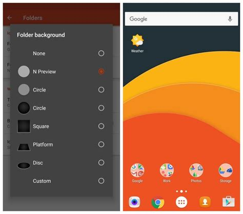 android downloads folder you can get the new android n folder icons with launcher beta free apk