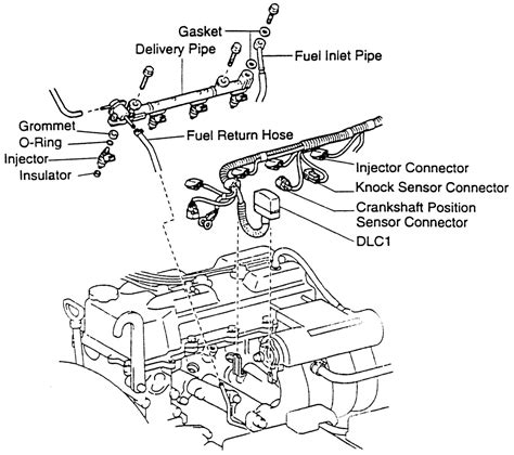 2002 Toyota Tacoma Engine Diagram Toyota Tacoma Engine 2 7l Thermostat Location Get Free