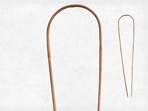 Support Plante Grimpante Bambou by 3 Tuteurs Arceau Bambou Tuteur Arceau En Bambou Nortene