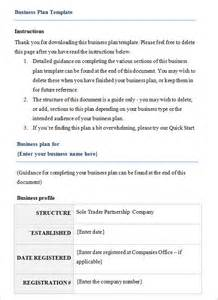 Business Plan Template Free Download Business Plan Template 10 Free Samples Examples Format