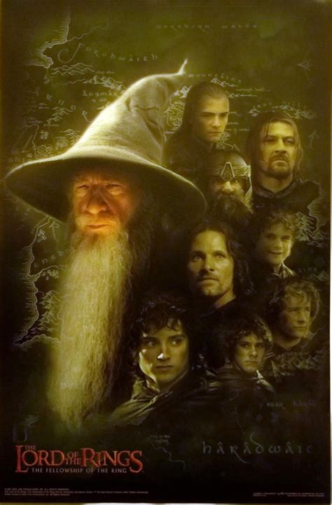 the fellowship of the the geeky nerfherder movie poster art the lord of the rings the fellowship of the rings 2001