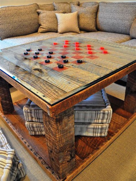 pattern table games 22 clever ways to repurpose furniture diy home decor and