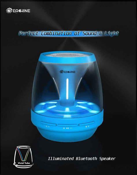 wireless speaker with lights buy eachine bluetooth wireless speaker with led night
