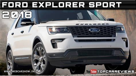 2018 ford explorer spec 2018 ford explorer sport review rendered price specs