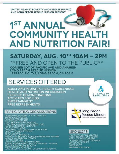 health fair flyer template community health fair flyer images