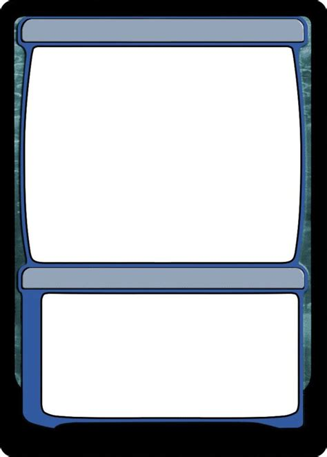 blank magic cards template planeshifted style planeswalker template magic set editor