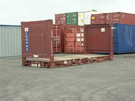 Flat Rack Container by Flat Rack Shipping Containers